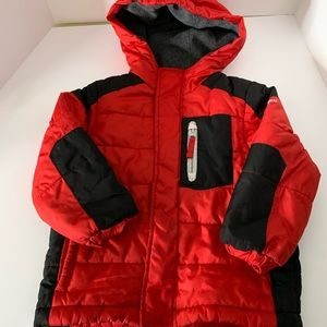 OshKosh Bgosh Kids Puffer Winter Jacket Hood  4T